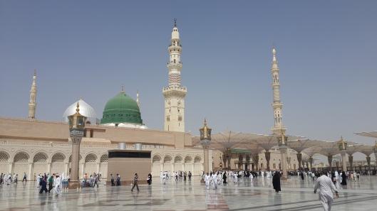 Al Masjid Nabiwi, Al Madina