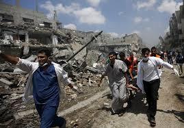 Gaza assault July 2014