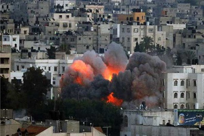 Missiles launched against Gaza