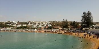Oualidiya beach