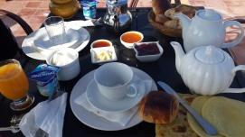 Breakfast at Ryad Les Terraces d'essaouira,