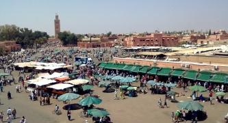 Jamae El Fna square, Marrakech