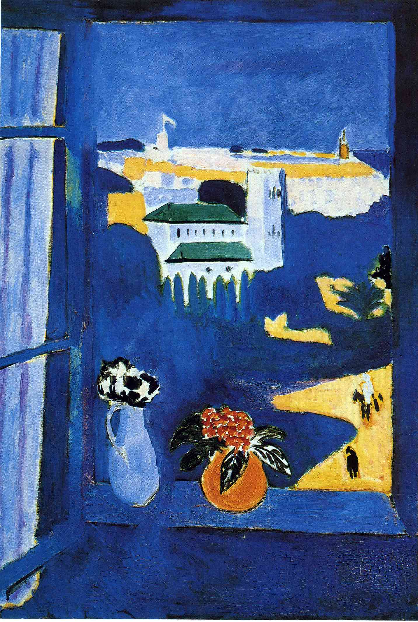 A year in tabuk fresh reminiscences writing the maghreb for Henri matisse fenetre